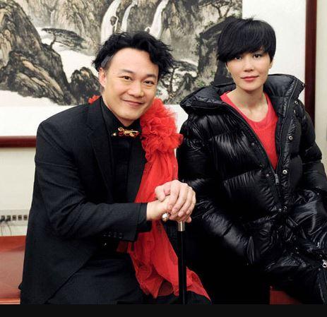 The husband & wife couple Eason chan & Hilary Tsui