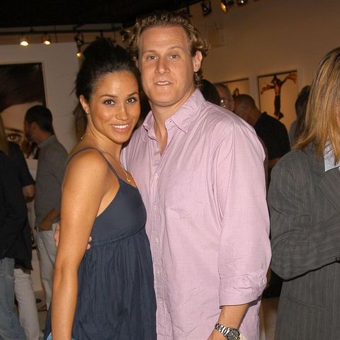 Meghan Markle with her ex-husband