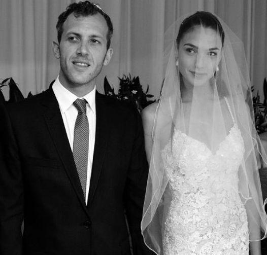 Yaron Versano & wife Gal Gadott