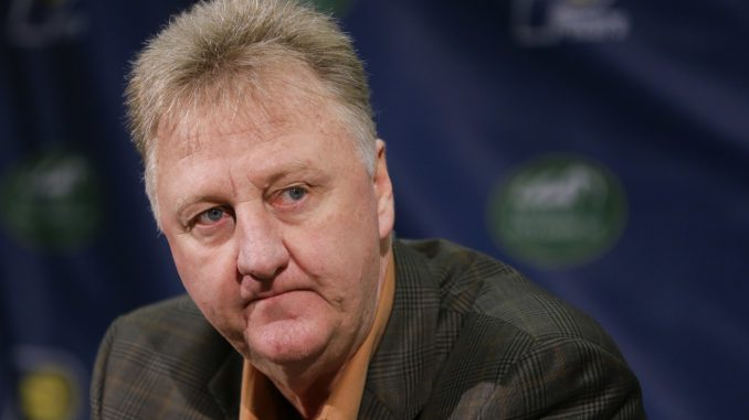 A life and career of larry bird a basketball player