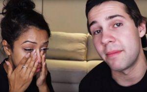 Liza and David announced their split through a YouTube video