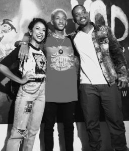 Liza meets Will Smith and his son, Jaden Smith in Miami, Florida