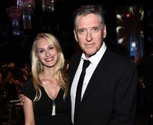 Megan Wallace Cunningham with her husband, Craig Ferguson