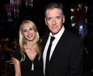 Megan Wallace Cunningham with her husband, Craig Ferguson
