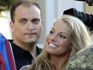 Trish Stratus and Ron Fisico photos