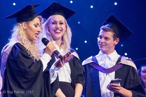 Megan Wallace Cunningham on her graduation