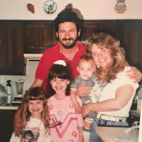 Lauren Hashian's picture with her family