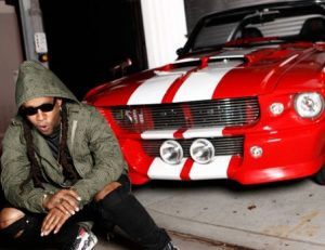 Ty Dolla Sign with an amazing car
