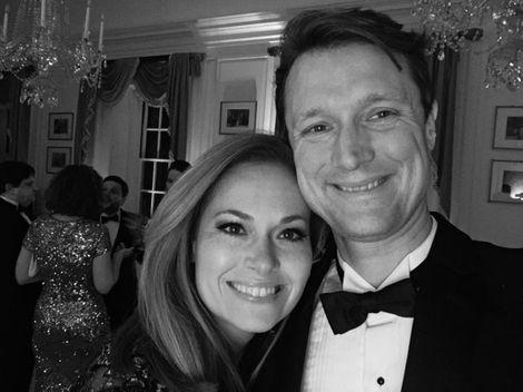 Gillian Turner and her partner