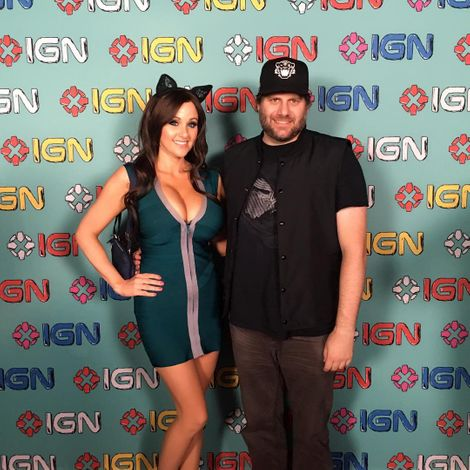 Angie Griffin with her husband, Chad Nikolaus