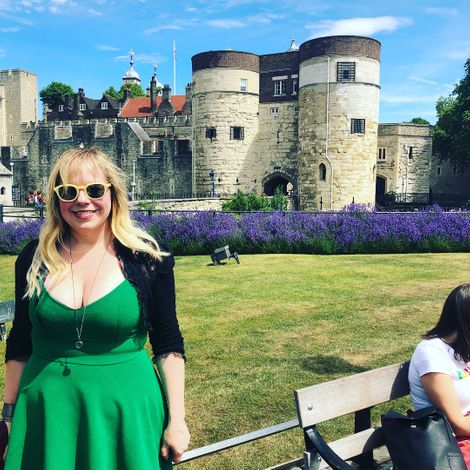 Kirsten Vangsness is spending her quality time visiting different places
