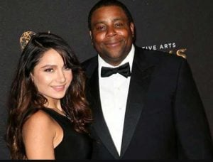Christina Evangeline with her husband, Kenan Thompson