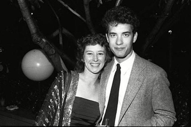 Samantha Lewes with her former husband