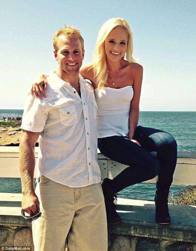 Tomi Lahren with her ex-boyfriend Jerad Christian