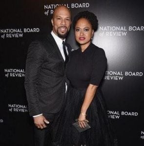 Ava with the famous rapper, Common