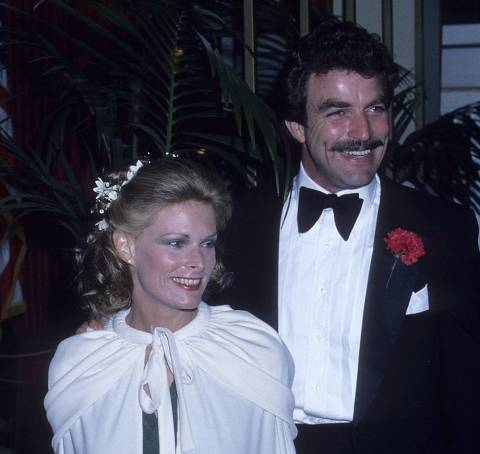 Tom Selleck with his first wife, Jacqueline Ray