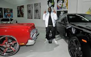 Rick with his automobiles