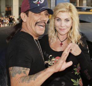 Danny Trejo with his ex-wife, Debbie Shreve