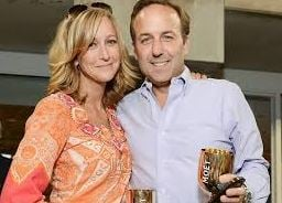 Lara with her ex-husband, David Haffenreffer