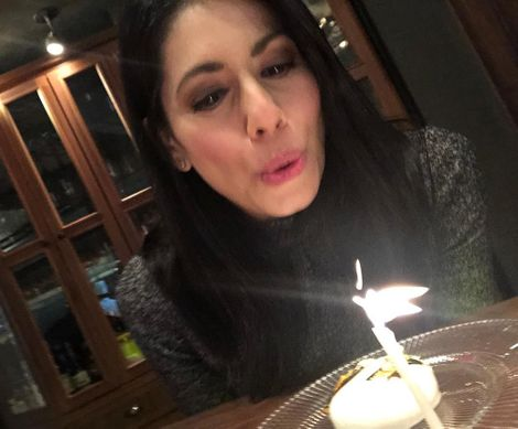 Tracee Carrasco celebrating her birthday