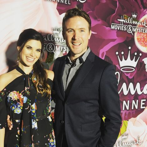 John Reardon and his wife Meghan Ory. wife, spouse, relationship, girlfriend,
