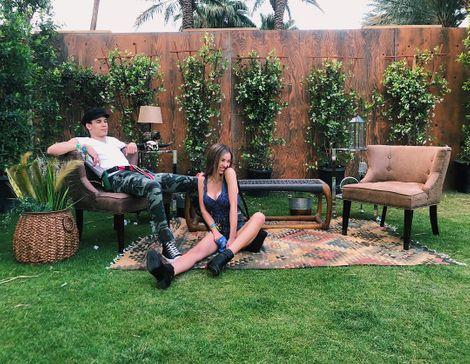 Sophie Mudd and her Boyfriend, Austin Dash
