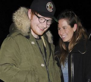 Ed Sheeran spotted with his wife, Cherry Seaborn