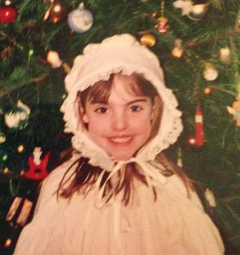 Elizabeth Gillies' childhood picture