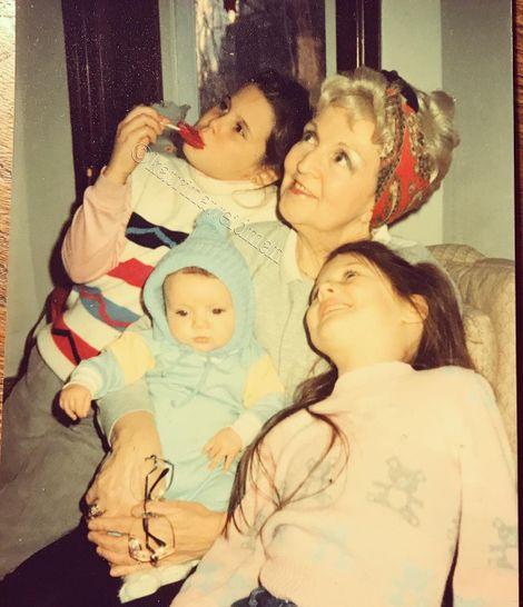 Katrina Weidman's Grandmother,Sister & Brother
