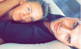 Billy McKeague with his ex-girlfriend, Victoria Azarenka