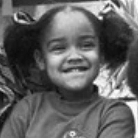 Aaren Simpon's childhood photo