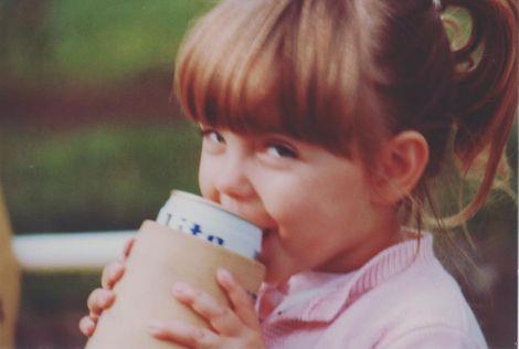 Waylynn Lucas' childhood picture