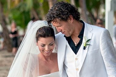 Frederic Thiebaud and his wife Shania Twain