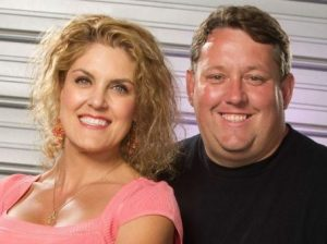 Casey Nezhoda with her husband, Dan Dotson