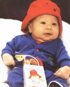 Ryan Bergara in his childhood