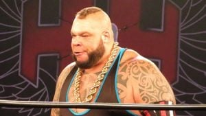 Tyrus at a wrestling stage