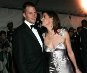 Bridget Moynahan with her former partner, Tom Brady