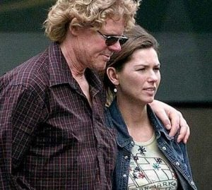 Shania Twain with her ex-husband, Mutt Lange
