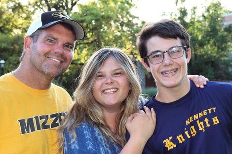Jill Bauer's husband & two kids