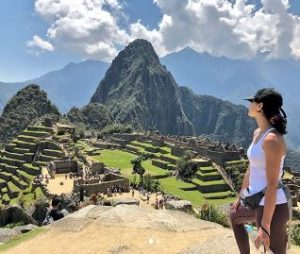 CinCin makes her dream fulfilled reaching at the top of Machu Picchu