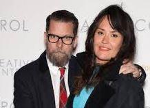 Emily Jendrisak with her husband, Gavin McInnes