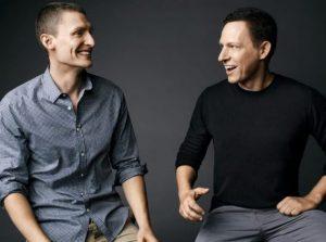Matt Danzeisen and his partner, Peter Thiel
