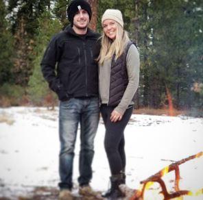 Patty Mayo with his girlfriend, Kayla Pillar