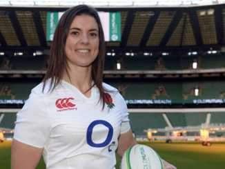 Rugby Player Sarah Hunter