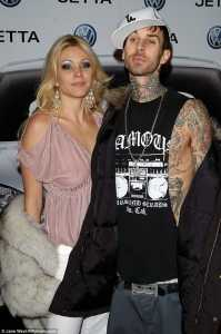Not a good way to enjoy the holidays: Travis Barker and Shanna Moakler were both