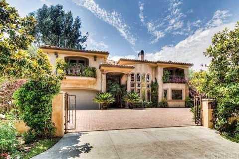 Jaime Pressly California home