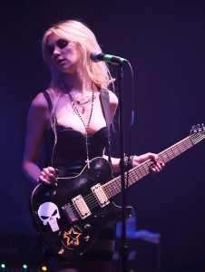 Momsen performing in April 2010