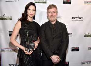 Caitriona Balfe in Oscar Wilde Awards 2017