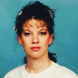Photo of Heather Abraham when she was in her teenage.