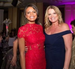 Christiana with Maureen Blumhardt at an event